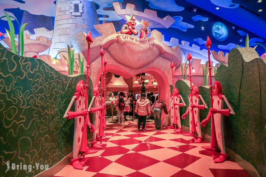 東京迪士尼愛麗絲夢遊仙境餐廳