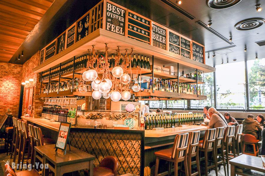 【新宿車站南口早餐推薦】Oyster Bar Wharf Shinjuku NEWoMan,生蠔BAR清爽美食粥品