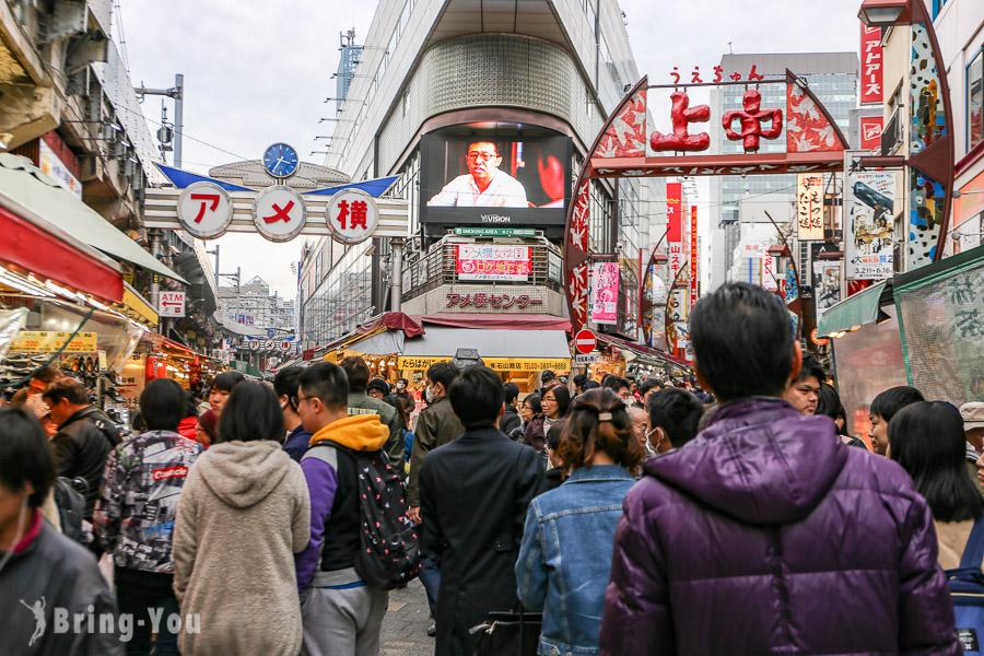 【上野景點】阿美橫町怎麼逛:阿美橫町美食、藥妝、逛街、交通、行程全攻略