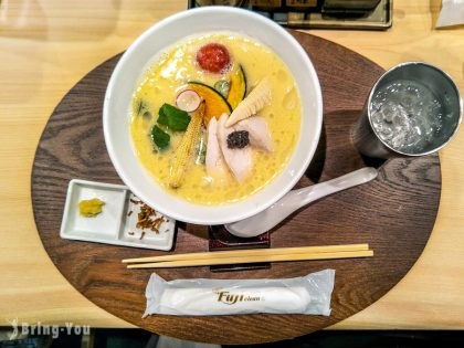 【東京銀座美食】銀座篝 松露雞白湯拉麵,不愧是米其林推薦超好吃!