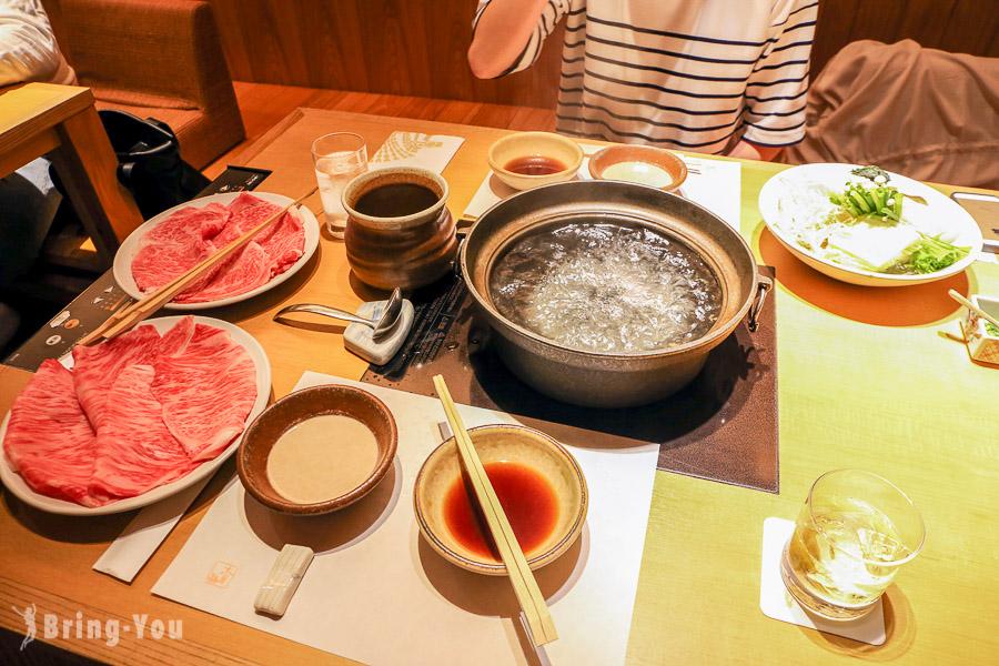 【新宿美食】木曾路涮涮鍋&壽喜燒(新宿三丁目店),黑毛和牛不錯吃