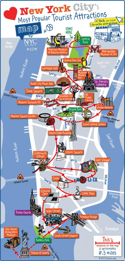 紐約分區地圖