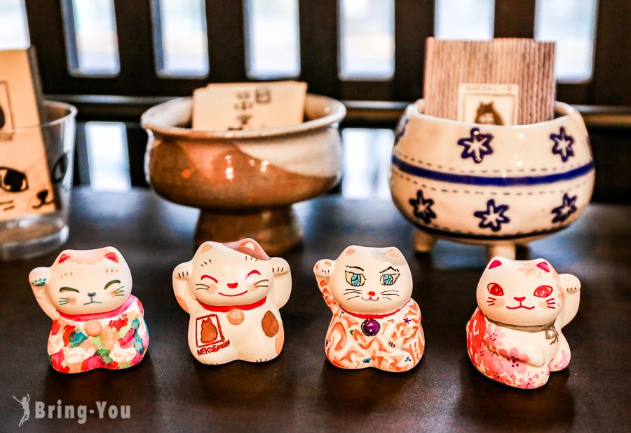 【谷中銀座】來東京日暮里畫自己的招財貓:咖啡貓衛門