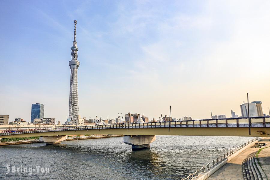 【東京晴空塔】拍晴空塔景點、夜景、交通、逛街購物商城、美食、附近大橫川親水公園一日遊攻略