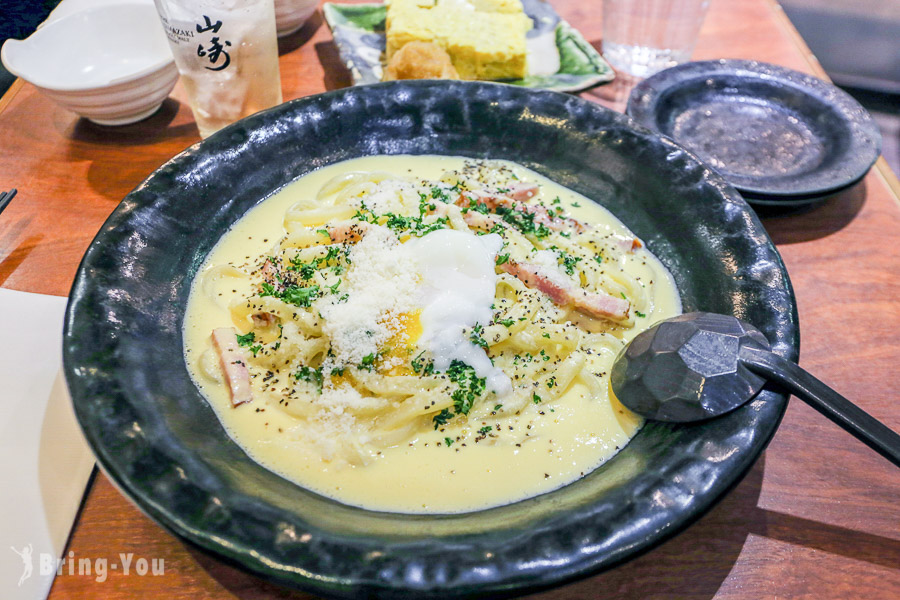 【池袋特色美食】あんぷく(Anpuku):日西合璧的奶油培根蛋烏龍麵