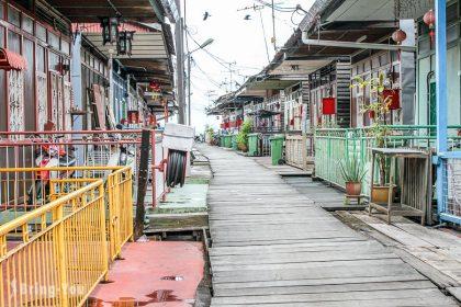 【馬來西亞檳城】姓氏橋:古色古香的特色景點故事&鐘樓