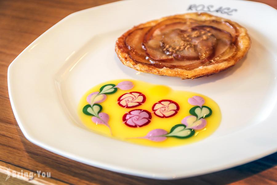【箱根下午茶甜點】Salon de the ROSAGE:蘆之湖畔夢幻玫瑰蘋果派美食