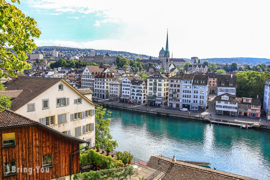 【瑞士】蘇黎世景點全攻略:Zurich老城區半日遊、一日遊就去這些地方(含住宿推薦)