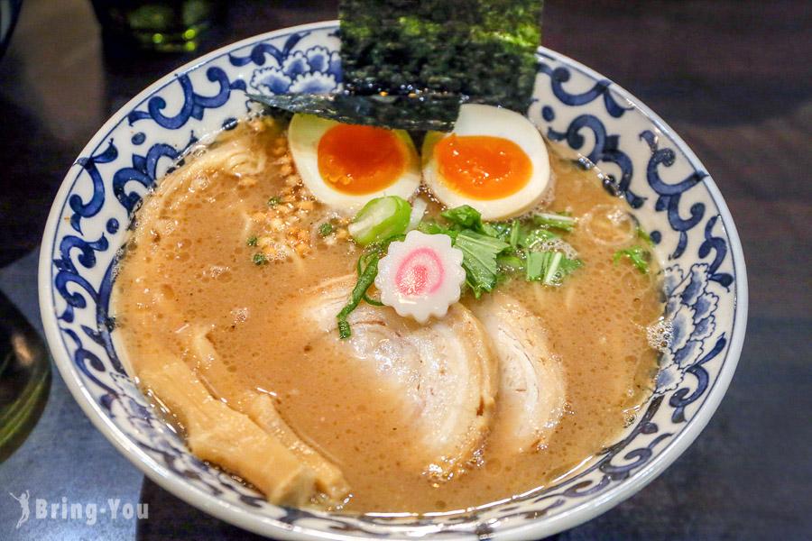 【東京車站美食】斑鳩拉麵:東京一番街超人氣鰹魚豚骨湯頭拉麵
