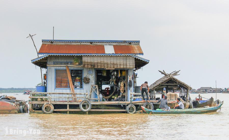 【柬埔寨旅遊】吳哥窟外圈:洞里薩湖水上村落體驗