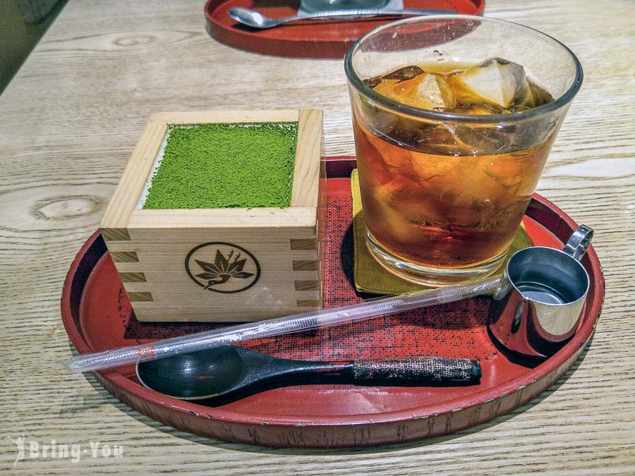 【鎌倉美食甜點】もみじ茶屋(鐮倉紅葉茶屋):超紅抹茶提拉米蘇