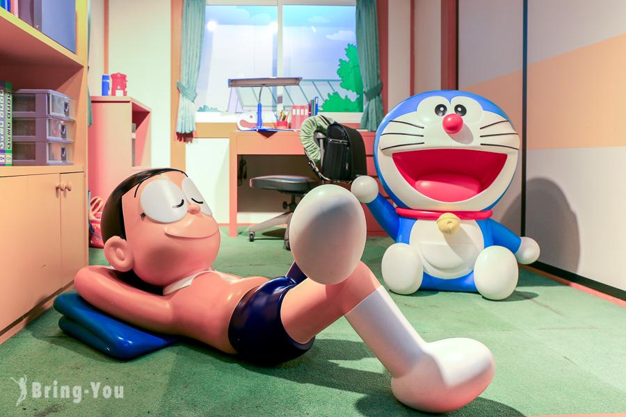 【東京六本木景點】朝日電視台尋找哆啦A夢和蠟筆小新