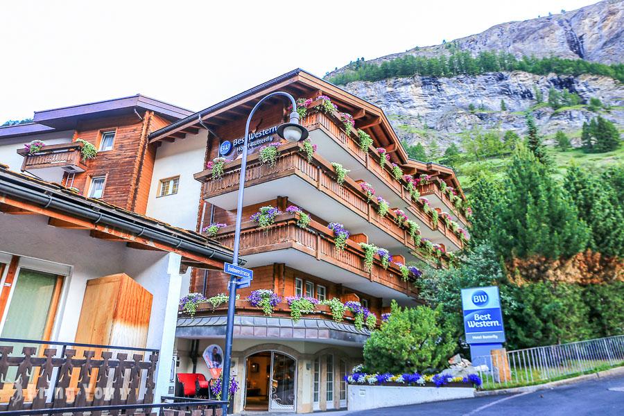【策馬特住宿推薦】Best Western hotel butterfly,班霍夫大道小巷設計風飯店