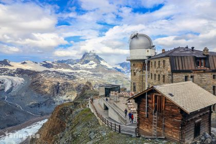 【策馬特景點】Gornergrat交通攻略:登山火車上觀景台欣賞馬特洪峰、冰河美景