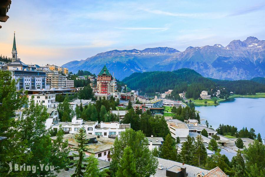 【聖莫里茲住宿推薦】St Moritz Soldanella Hotel,極致湖景古典飯店