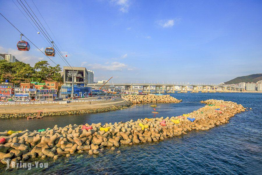 釜山松島海上纜車