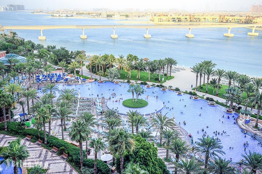 【杜拜棕櫚島亞特蘭蒂斯飯店】Atlantis The Palm 房間篇:超殺波斯灣窗景