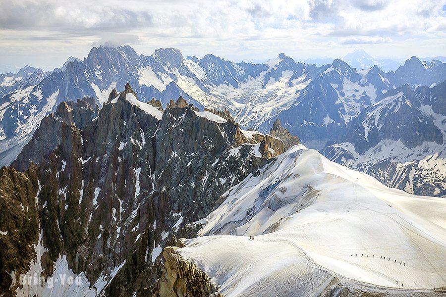 法國白朗峰