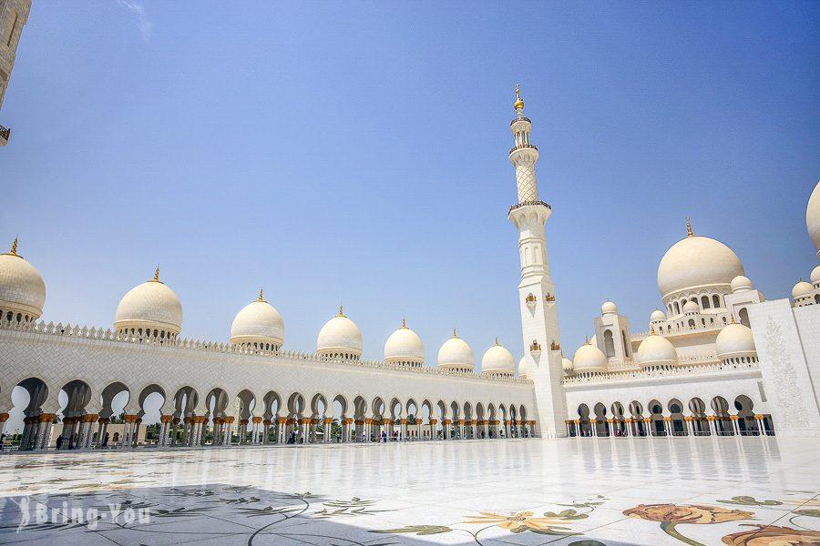 阿布達比謝赫扎耶德大清真寺Sheikh Zayed Grand Mosque
