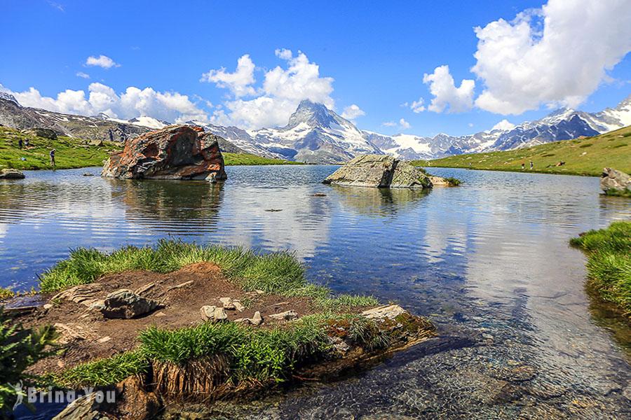 【瑞士策馬特】五湖健行 5-Seenweg:纜車交通路線攻略&馬特洪峰倒影拍攝