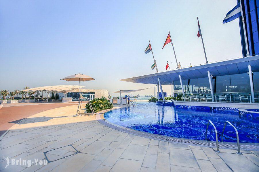 杜拜帆船飯店設施