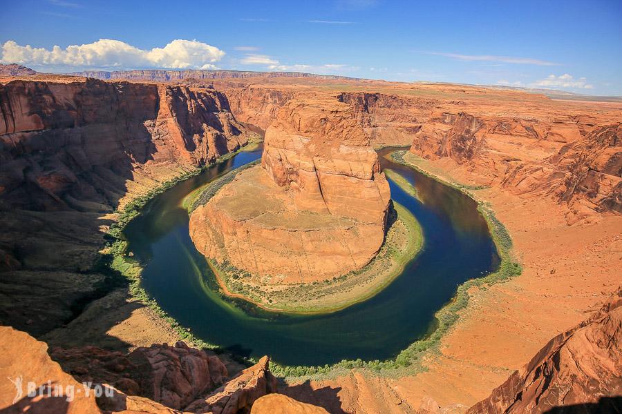 【美國亞利桑那】馬蹄灣(Horseshoe bend):美西壯闊景點