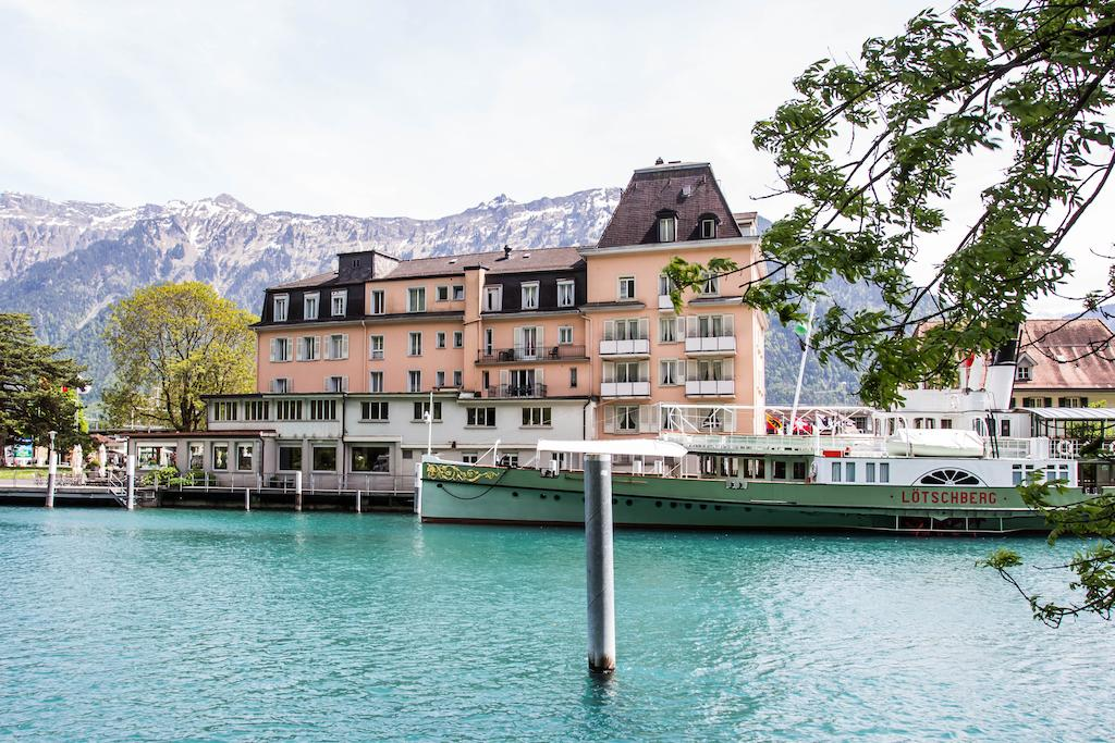 【茵特拉根住宿推薦】Hotel Du Lac Interlaken:Interlaken Ost車站