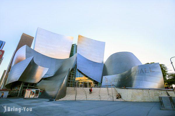 【洛杉磯市中心區景點】華特迪士尼音樂廳、中央市場、中國城、聯合車