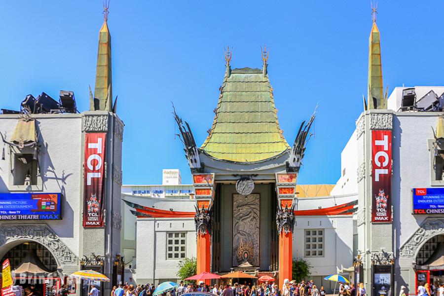 【洛杉磯】好萊塢星光大道景點&美食攻略:明星星星、中國戲院名人手印、伴手禮店、杜比劇院、住宿推薦