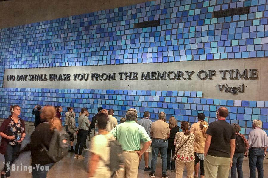 【美國紐約】911國家紀念博物館:911 Memorial Museum 門票、參觀內容介紹