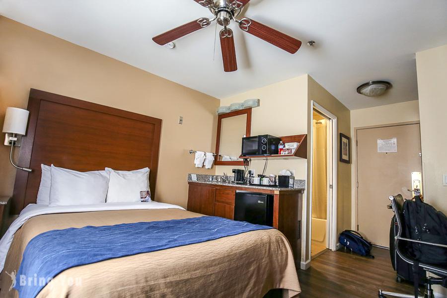 【聖地牙哥住宿地點選擇建議】煤氣燈街區飯店:Comfort Inn Gaslamp Convention Center