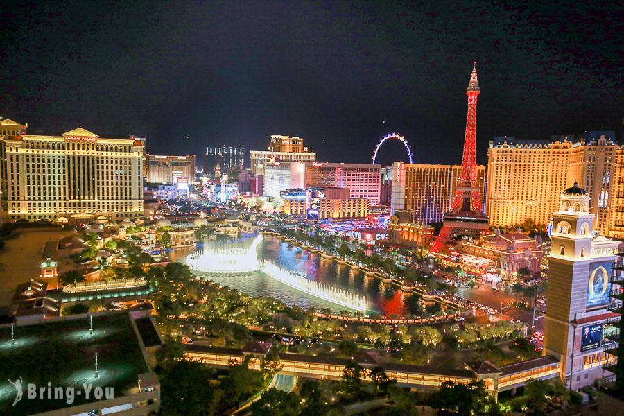 【拉斯維加斯必做】登高欣賞超浮誇的賭城億萬夜景