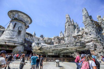 【美國加州迪士尼】最新開幕!星際大戰園區介紹,星戰迷必去Star Wars: Galaxy's Edge