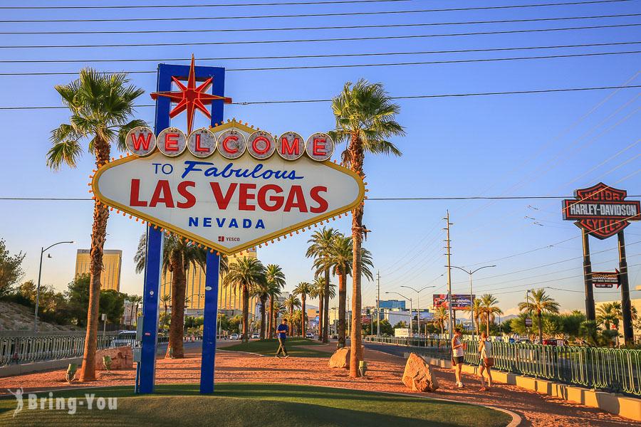 【拉斯維加斯景點推薦】到拉斯維加斯必做的十件事:好玩必體驗夜景、賭場