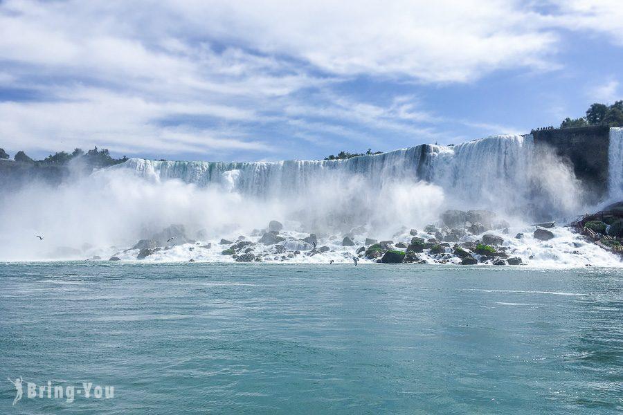 尼加拉瀑布霧中少女號遊船
