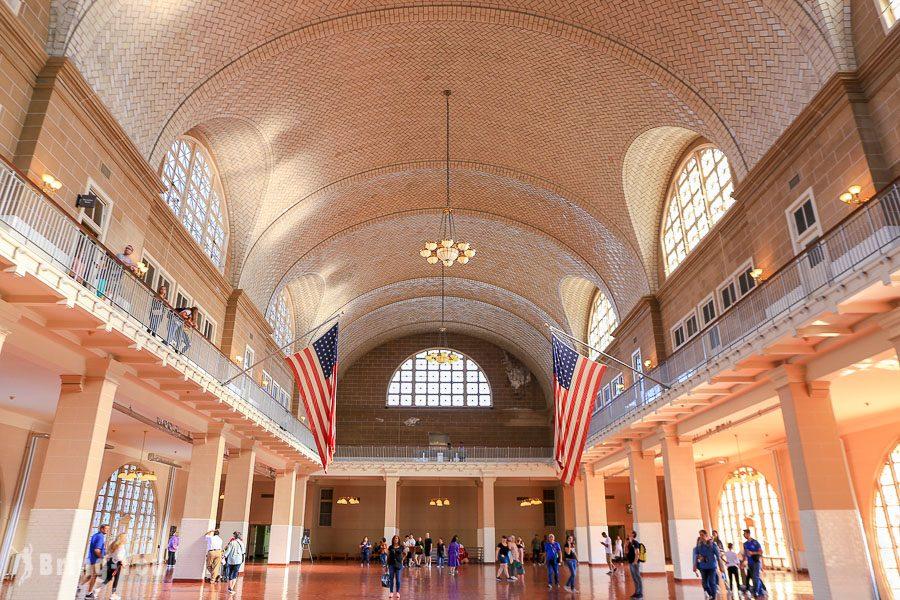 愛麗絲島(Ellis Island)
