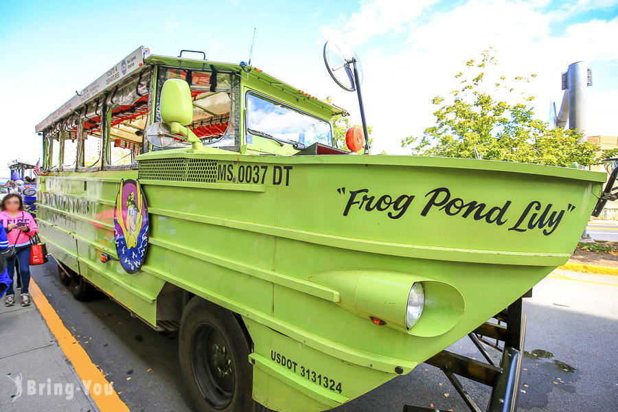 【美國】波士頓鴨子船 Boston Duck Tours,從水上陸上認識波士頓