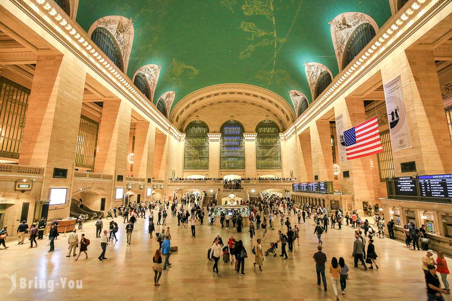【紐約中央車站】美國電影最愛的浪漫車站景點攻略 &  Urbanspace 美食