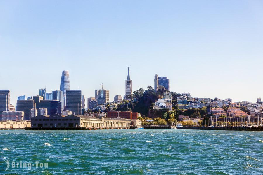 【美國舊金山】金門灣遊船,從海灣上欣賞金門大橋、惡魔島更美