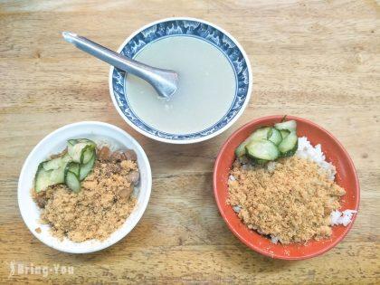 【台南中西區宵夜】水仙宮粽葉米糕&黃家鱔魚意麵:國華街美食