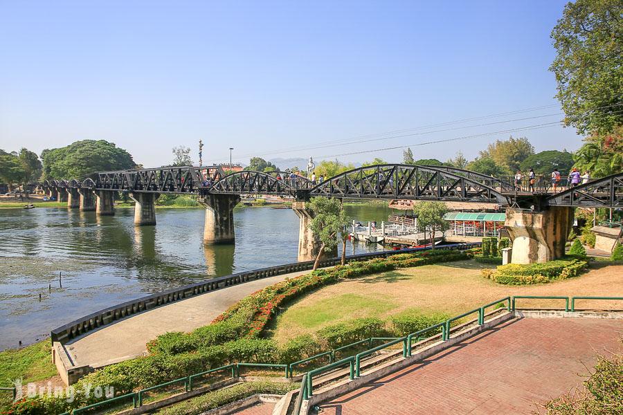 【北碧府秘境一日遊】復古百年茉莉之城、桂河大橋、死亡鐵路、大象玩水