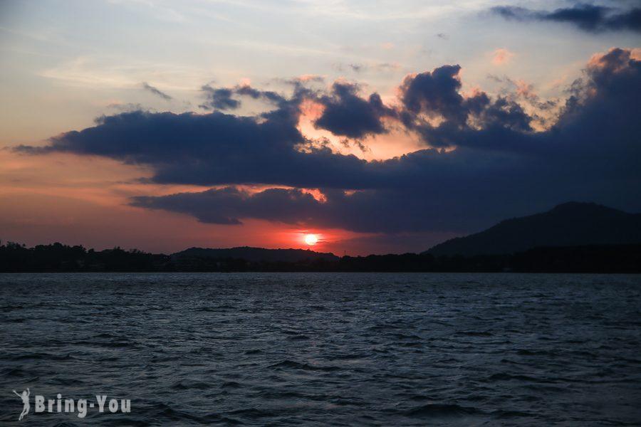 神仙半島(Promthep cape)