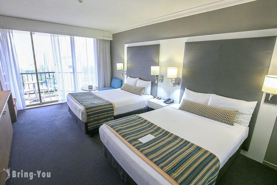 黃金海岸衝浪者天堂住宿 Mantra on View Hotel