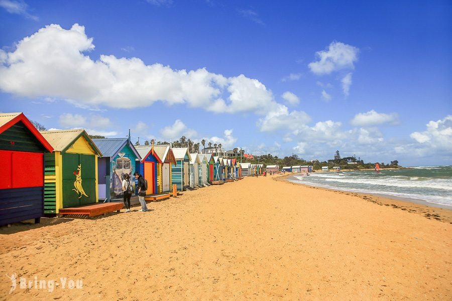 彩虹小屋 Brighton Beach Bathing Boxes