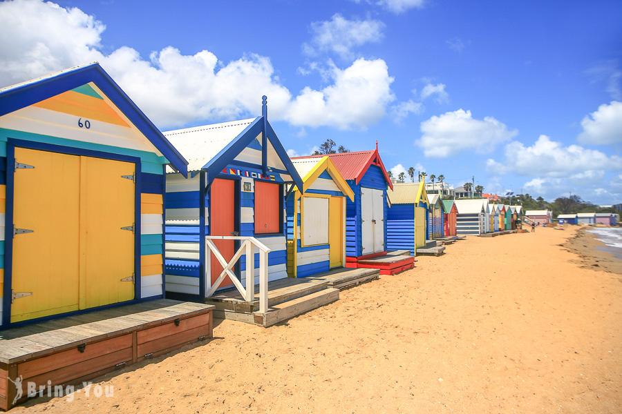 【澳洲墨爾本】彩虹小屋一日遊:Brighton Beach Bathing Boxes