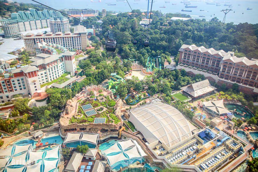 新加坡空中纜車聖淘沙站