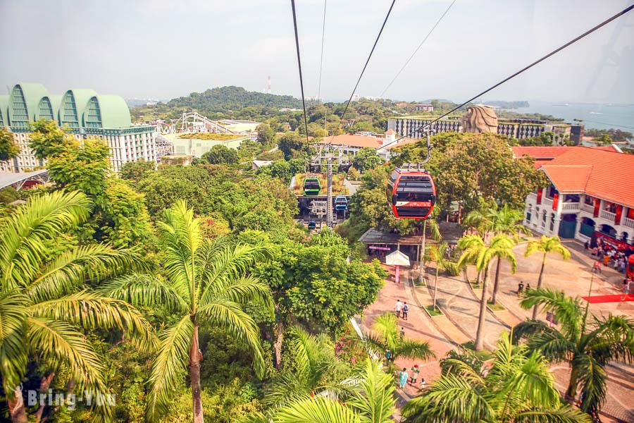 【新加坡空中纜車】花柏山纜車一日遊路線安排、Singapore Cable Car 珠寶盒纜車車票購票攻略