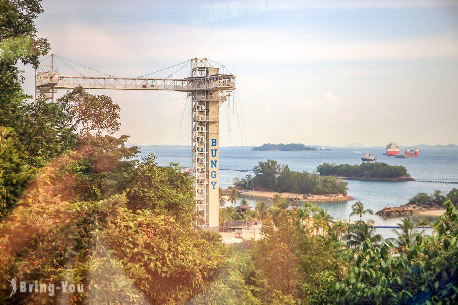 新加坡花柏山珠寶盒纜車西樂索海角站