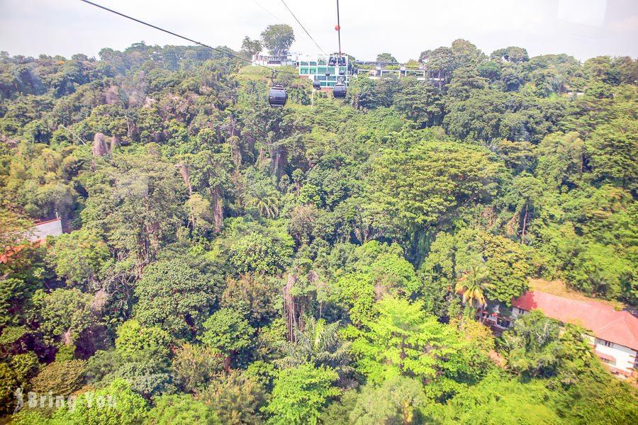 新加坡空中纜車-花柏山珠寶盒纜車Singapore Cable Car