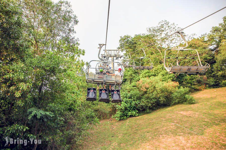 新加坡斜坡滑車空中吊車